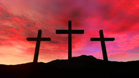 Golgotha Royalty Free Stock Photos