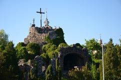 The Golgotha of the Basilica of Licheń, Poland. Basilica of Licheń, Poland - the Golgotha Royalty Free Stock Photos