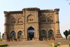 Golgumbaz的卡纳塔克邦博物馆 库存照片