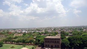 Golgumbaz entourant chez Bijapur Karnataka Photos stock