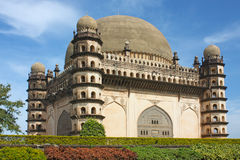 Golgumbaz, a Mughal mausoleum Royalty Free Stock Photos