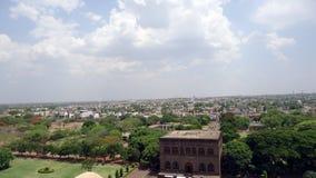 Golgumbaz que cerca em Bijapur Karnataka fotos de stock