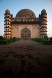 Golgumbaz South Facade Entrance Stock Photos