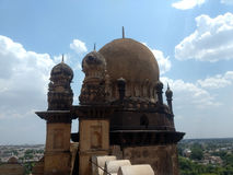 Golgumbaz surrounding at Bijapur Karnataka. In India Royalty Free Stock Photography