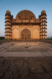 Golgumbaz West Facade Royalty Free Stock Photos