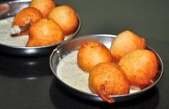 Goli Bajje. A famous konkani vegeterian  snack Royalty Free Stock Photos