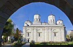 Golia修道院, Iasi,罗马尼亚 图库摄影