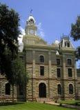 Goliad Gerichtsgebäude stockfotos