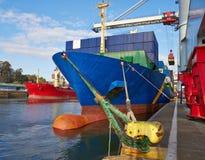 Goliath crane loading of goods Stock Photography