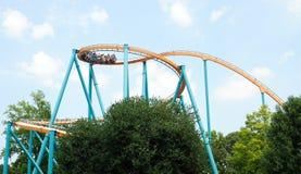Goliath Roller Coaster Georgia Stock Images