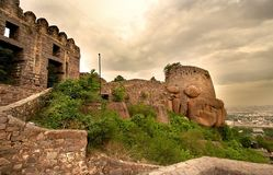Golkonda Fort Royalty Free Stock Photo