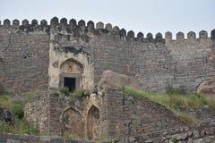 GolKonda-Fort Hyderabad stockbild