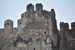 GolKonda-Fort Hyderabad stockfotografie