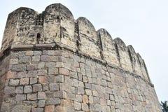 GolKonda-Fort Hyderabad lizenzfreie stockfotos