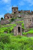 Golkonda fort in Hyderabad, India Royalty Free Stock Image