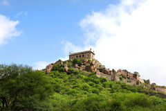 Golkonda fort landscape Royalty Free Stock Images