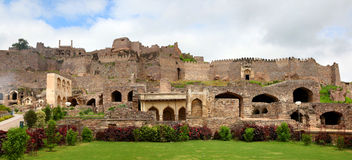Golkonda fort Stock Photography