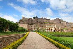 Golkonda fort Royalty Free Stock Photography