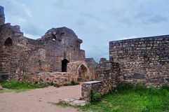 Golkonda ruins Royalty Free Stock Images