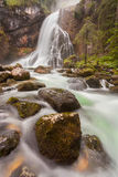 Gollinger Wasserfall Photo stock