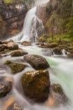 Gollinger Wasserfall foto de stock