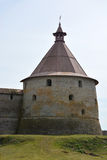 Golovina tower of the fortress at Shlisselburg city Stock Photo