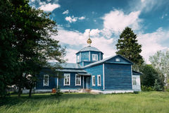 Golovintsy,戈梅利区,戈梅利地区,白俄罗斯 老东正教 库存照片