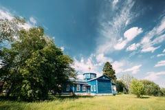 Golovintsy, περιοχή Gomel, περιοχή Gomel, της Λευκορωσίας Παλαιά Ορθόδοξη Εκκλησία Στοκ φωτογραφίες με δικαίωμα ελεύθερης χρήσης