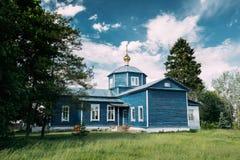Golovintsy, περιοχή Gomel, περιοχή Gomel, της Λευκορωσίας Παλαιά Ορθόδοξη Εκκλησία Στοκ Φωτογραφίες