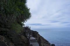 Golpe Bao Cliff Fotografia de Stock Royalty Free