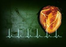 Golpe de corazón Imagen de archivo libre de regalías