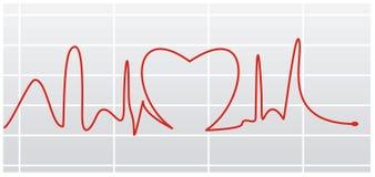 Golpe de corazón I ilustración del vector
