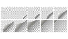 Golpe de la página de la animación ilustración del vector