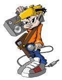 Golpeador de Hiphop Fotografía de archivo