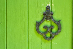 Golpeador de puerta Fotografía de archivo libre de regalías