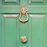 Golpeador de puerta Fotos de archivo