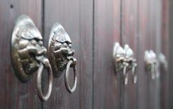 Golpeador de puerta Imagen de archivo libre de regalías