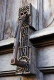Golpeador de puerta adornado imágenes de archivo libres de regalías
