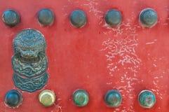 Golpeador de puerta chino Imagenes de archivo