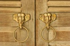 Golpeador principal del elefante Fotografía de archivo libre de regalías