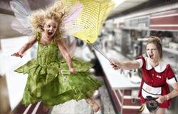 Golpear con fuerza Tink Imagen de archivo libre de regalías