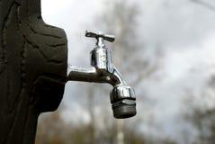 Golpecito de agua Imágenes de archivo libres de regalías
