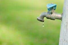 Golpecito de agua Fotos de archivo