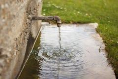 Golpecito de agua Imagenes de archivo