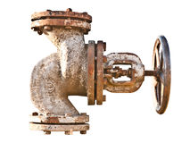 Golpecito de agua oxidado Imagenes de archivo