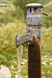 Golpecito de la bomba de agua Foto de archivo libre de regalías