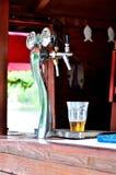 Golpecito de la cerveza imágenes de archivo libres de regalías