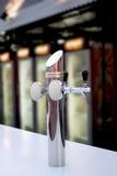 Golpecito de la cerveza de barril Imagen de archivo libre de regalías