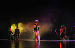 Golpecito del golpecito la identidad de la barra- del drama de la danza del misterio-tango Imagen de archivo