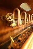 Golpecitos en cervecería imagen de archivo libre de regalías